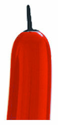 321Q RED WITH BLACK TIP (100 COUNT)