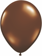 "16"" Round Chocolate Brown (50 count) Qualatex"