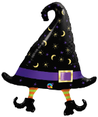 "36"" Giant Witch's Hat (pkgd) 1 ct, Qualatex"