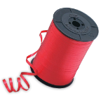"3/16"" Red Qualatex Balloon Ribbon (500 yds)"