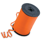 "3/16"" Orange Qualatex Balloon Ribbon (500 yds)"