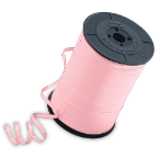 "3/16"" Pink Qualatex Balloon Ribbon (500 yds)"