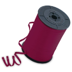 "3/16"" Burgundy Qualatex Balloon Ribbon (500 yds)"