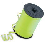 "3/16"" Lime Green Qualatex Balloon Ribbon (500 yds)"