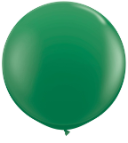3' Round Green (2 count) Qualatex