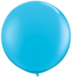 3' Round Robin's Egg Blue( 2 count) Qualatex