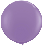 3' Round Spring Lilac(2 count) Qualatex