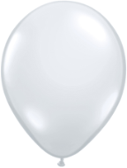 "18"" Round Diamond Clear - Latex - (50 count) Qualatex"