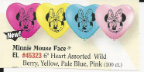 "6"" Heart Minnie Mouse Face  (100 Count)"