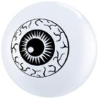 "5"" Round Eyeball Top Print (100 count)"
