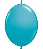 "6"" Qualatex Quick Links - Tropical Teal (50 ct)"