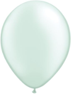 "5"" Round Pearl Sea Green (100 count) Qualatex"