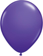 "11"" Round Purple Violet (100 count) Qualatex"