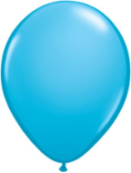 "11"" Round Robin's Egg Blue (100 count) Qualatex"
