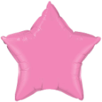 "20"" Rose Star Qualatex (5 ct)"