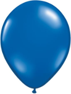 "9"" Round Sapphire Blue  (100 count) Qualatex"