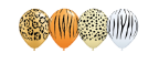 "5"" Round Safari Assortment - 100 COUNT"