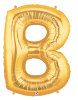 "LETTER ""B"" 40"" GOLD MEGALOON (1 PK) POLYBAG (SKU: 15902GB)"