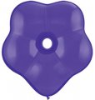 "6"" Geo Blossom - Purple Violet (50 ct) (SKU: 18627)"