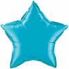 "20"" Turquoise Star Qualatex  (5ct) (SKU: 24819)"