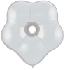 "6"" Geo Blossom - Diamond Clear (50 count) Qualatex (SKU: 37684)"