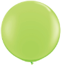 3' Round Lime Green (2 count) Qualatex  (SKU: 43660)