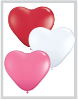 "6"" Heart Love Assortment (100ct) Qualatex (SKU: 47949)"