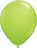 "11"" Round Lime Green (100 count) Qualatex"
