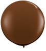 3' Round Chocolate Brown (2 count) Qualatex (SKU: 83660)