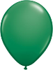 "11"" Round Green (100 count) Qualatex"