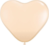 "6"" Heart Blush (100 count) Qualatex (SKU: 92526)"
