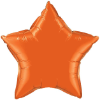 "20"" Orange Star Qualatex  (5ct) (SKU: 86966)"