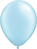 "11"" Round Pearl Light Blue (100 count) Qualatex (SKU: 43777)"
