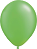"11"" Round Pearl Lime Green (100 count) Qualatex (SKU: 49957)"