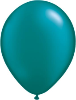 "11"" Round Pearl Teal (100 count) Qualatex"