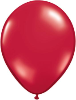"11"" Round Ruby Red (100 count) Qualatex"
