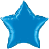 "20"" Sapphire Blue Star Qualatex (5ct) (SKU: 12624)"