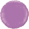 "18"" Round Spring Lilac Qualatex Microfoil (5 ct.) (SKU: 12911)"