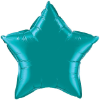 "20"" Teal Star Qualatex (5ct) (SKU: 36576)"