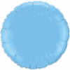 "18"" Round Pale Blue Qualatex Microfoil (5 ct.) (SKU: 12908)"