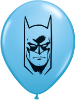 "5"" Round Batman Face - Pale Blue  (100 Count) (SKU: 21925)"