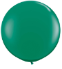3' Round Emerald Green (2 count) Qualatex  (SKU: 43002)