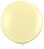 3' Round Ivory Slik (2 count) Qualatex  (SKU: 43657)