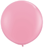 3' Round Pink (2 count) Qualatex  (SKU: 42764)