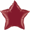 "20"" Burgandy Star Qualatex  (5ct) (SKU: 41533)"