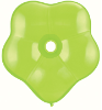 "6"" Geo Blossom - Lime Green (50 count) Qualatex (SKU: 37685)"