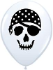 "5"" Round Pirate Skull (100 count ) (SKU: 99779)"