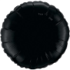 "18"" Round Onyx Black Qualatex Microfoil (5 ct.) (SKU: 12907)"