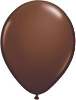 "11"" Round Chocolate Brown (100 count) Qualatex (SKU: 68778)"