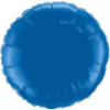 "18"" Round Dark Blue Qualatex Microfoil (5 ct.) (SKU: 87141)"